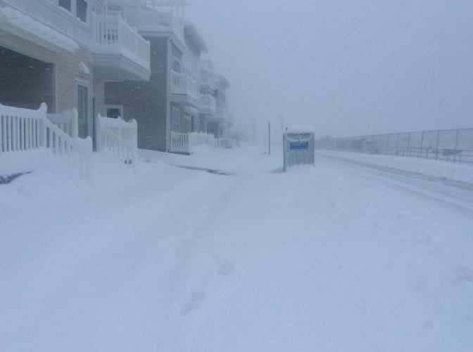 Blizzard Photos From Arverne