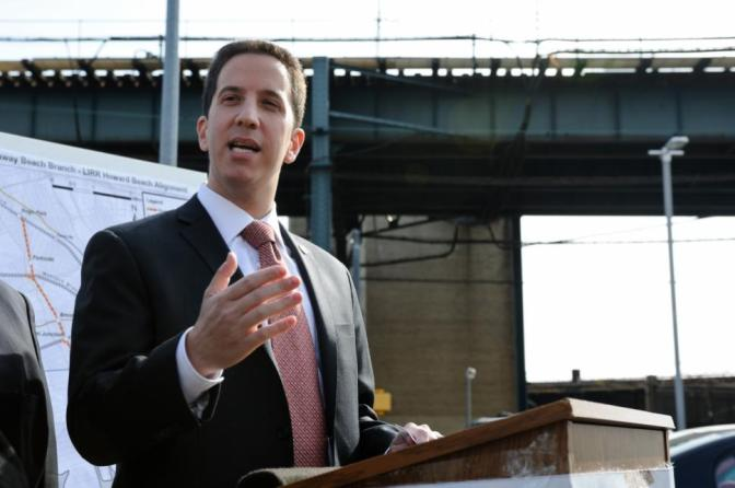 On Track: Goldfeder Aiming to Improve Transportation in Rockaway