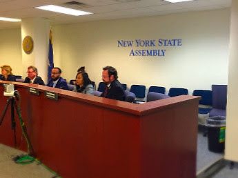 Assemblywoman Titus,oral testimony to Notice of Public Hearing on Worker Safety Programs in New York State