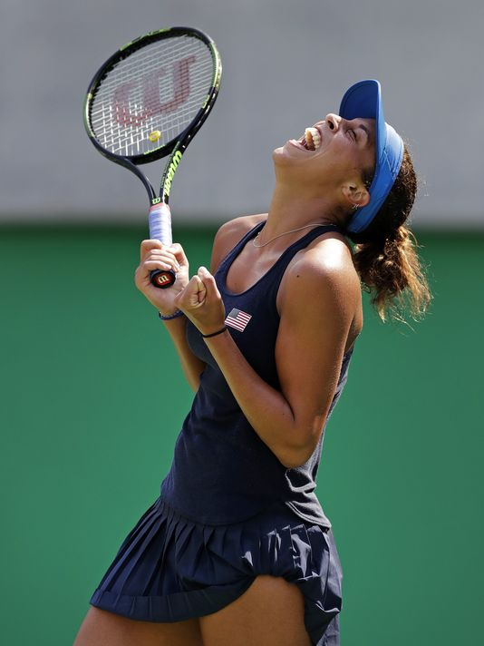 Madison Keys advances to quarterfinals in Rio and could win gold for USA.