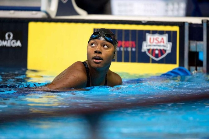 Simone Manuel Becomes The First African-American Win Gold In Individual Swimming.