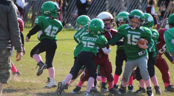 Shamrock Peanuts And Glen Cove Cardinals Clash!