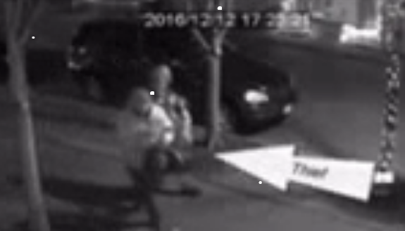 Grinch couple caught on tape stealing Christmas.