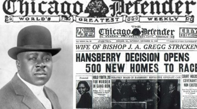 "Black History Month: Primetime Pays Respect To ""The Chicago Defender"" Historic Black Newspaper"
