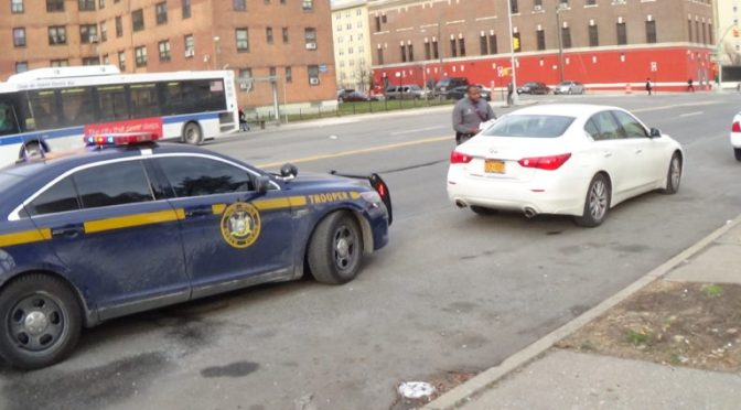 What Are State Troopers Doing In Rockaway?