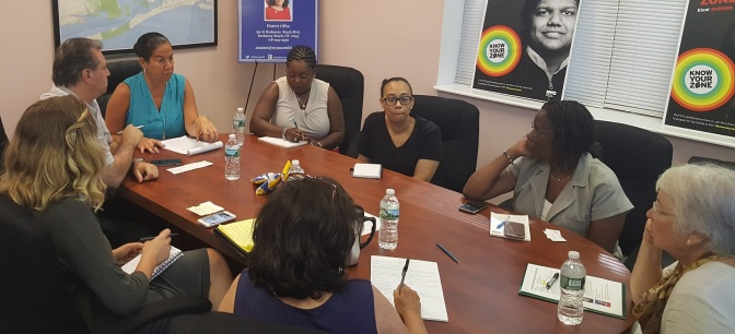 """Pheffer Amato, Addabbo, Titus Meet with Chancellor Fariña Outline """"Exciting Ideas to Bring Schools and Communities Together"""""""