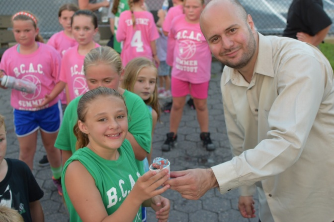 Scala's Youth Basketball Team Plays Team Ulrich
